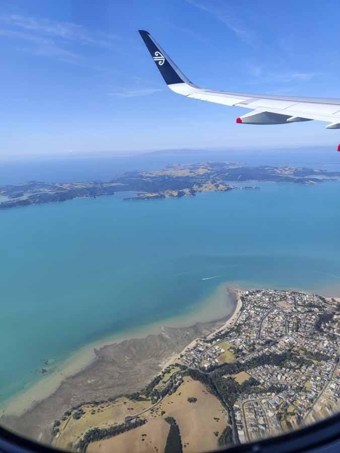 Flying to Fiji