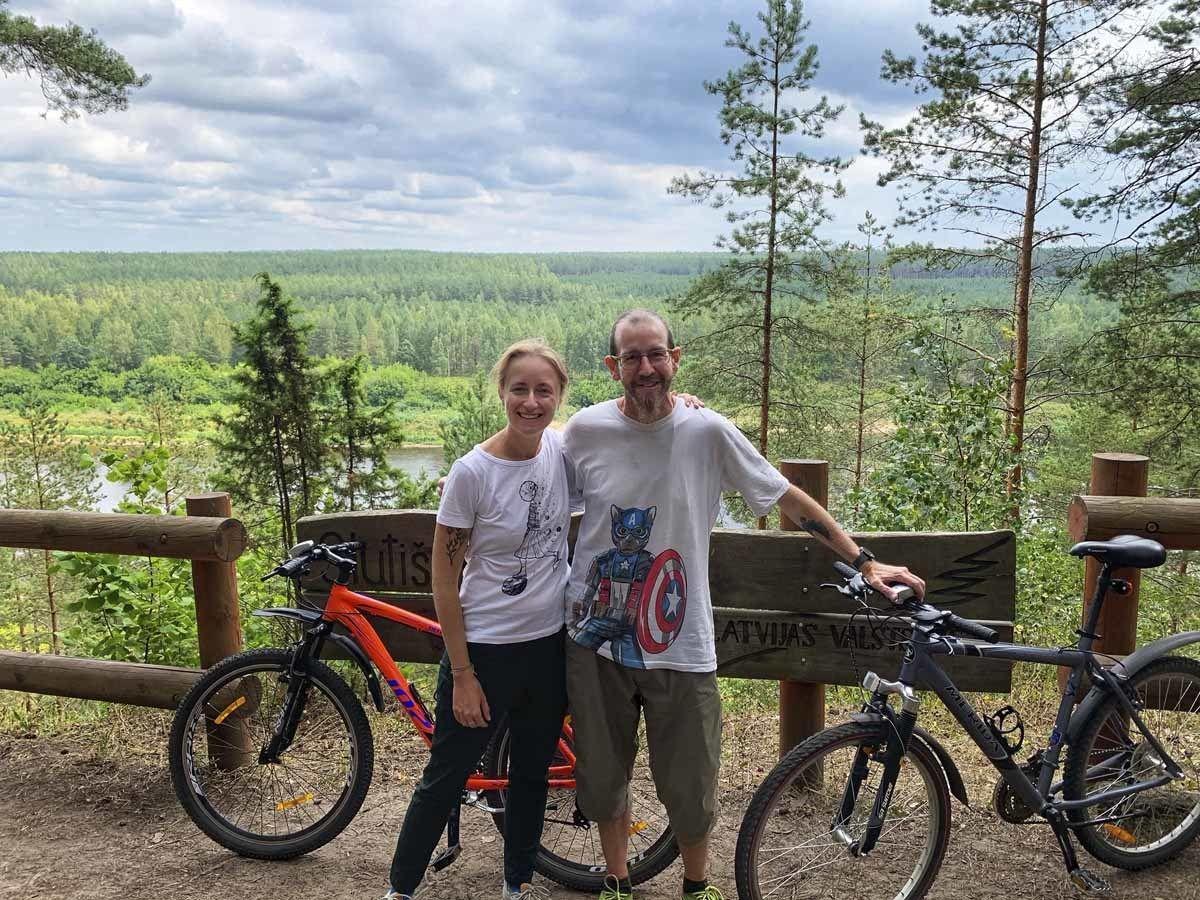 mountain bike latgale