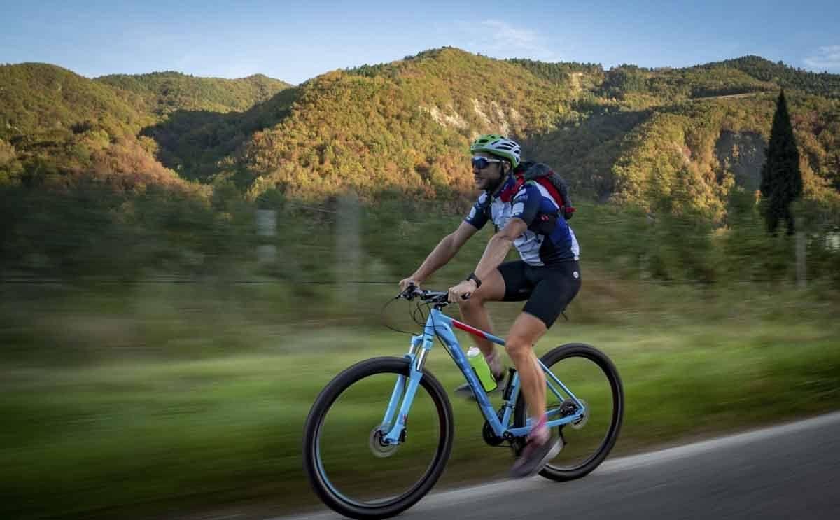 dantes way cycling