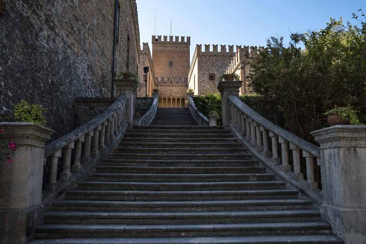 tabiano castello entrance