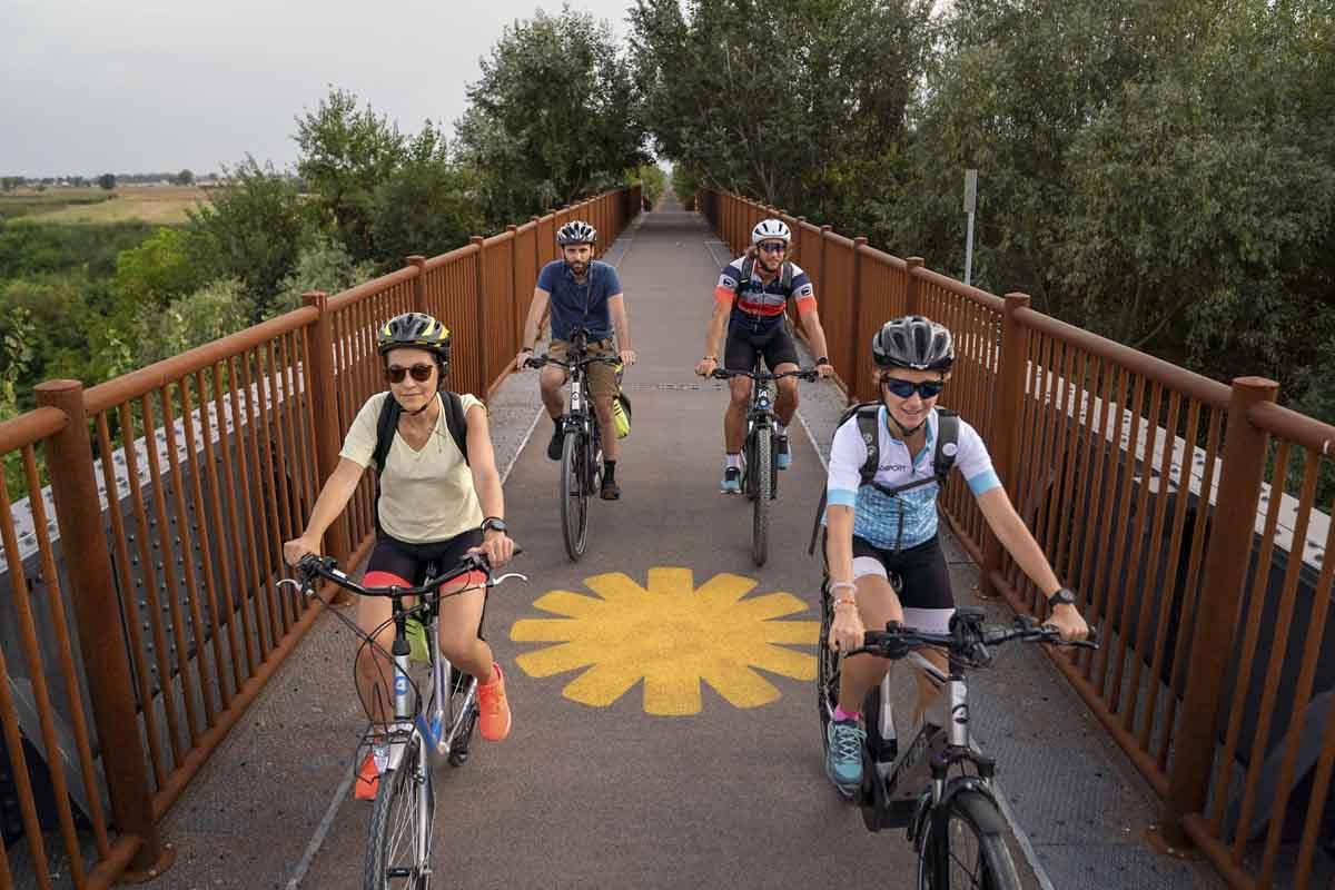 ciclovia del sole bridge